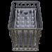 Печь банная Гефест гроза в сетке 24 (М)