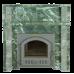 Портал для печи из камня-Змеевик