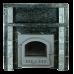 Портал для печи из камня-Серпентинит