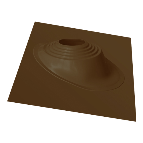 Уплотнитель кровельный RES №3 силикон 254-467 mm угловой, коричневый