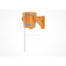Обливное устройство из лиственницы 12 литров (лиственница натуральная)