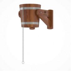 Обливное устройство из лиственницы 12 литров (лиственница морёная)