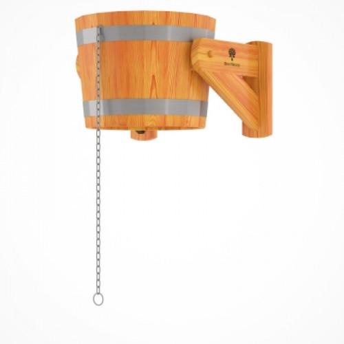 Обливное устройство из лиственницы 20 литров (лиственница натуральная)