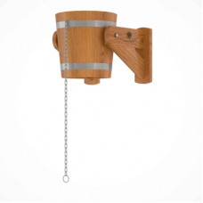 Обливное устройство из дуба 12 литров (дуб натуральный)