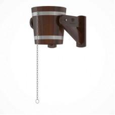 Обливное устройство из дуба 12 литров (дуб морёный)