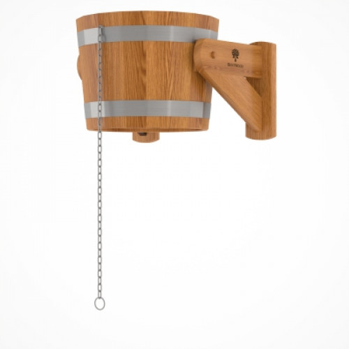 Обливное устройство из дуба 20 литров (дуб натуральный)