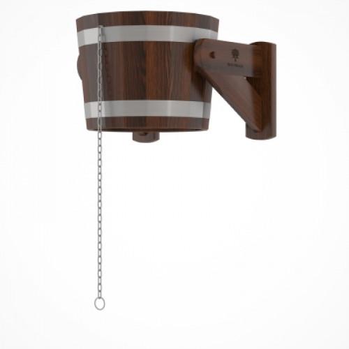 Обливное устройство из дуба 20 литров (дуб морёный)