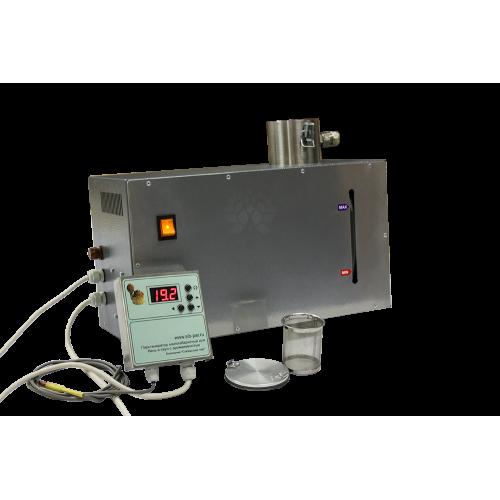 Парогенератор наливной 2,5 Квт. с таймером учета процедуры