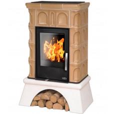 Керамическая печь BRITANIA KI, с теплообменником, с допуском воздуха