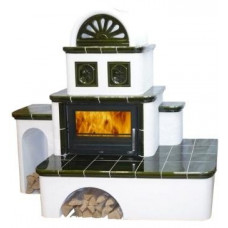 Керамическая печь OXFORD, с теплообменником