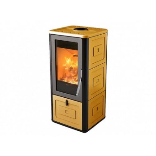 Печь-камин MCZ Chari Old Amber