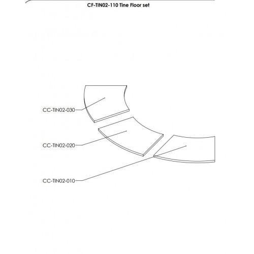 Притопочная панель Tine, slate