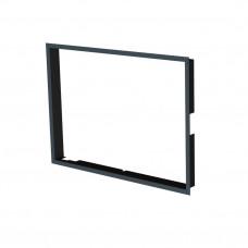 Рамка BeF, черная, 80 мм для Fell, Therm 6/V6