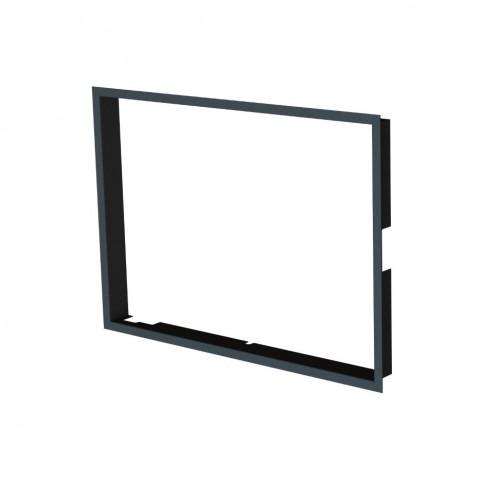 Рамка BeF, черная, 80 мм для Therm 7/V7