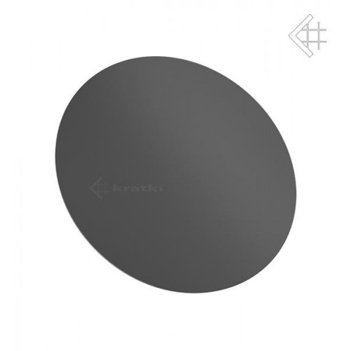 Заглушка Koza/AB/S(при подключении дымохода сзади)
