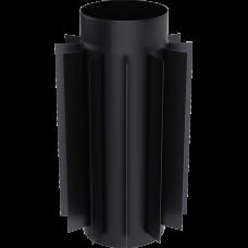 Труба-радиатор 0.5м, стальной д.200