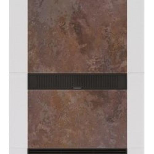 Передняя панель Salzburg L керамика Rusty, коричневая для версии с дополнительной надстройкой