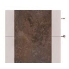 Передняя панель Salzburg M для версии с дополнительной надстройкой,  керамика Rusty коричневая