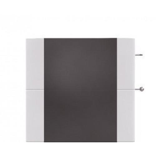 Фронтальная панель Salzburg M, керамика, черная (для версии с дополнительной надстройкой)