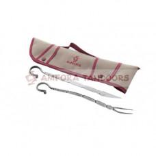 Набор для пикника кованый (нож-вилка)