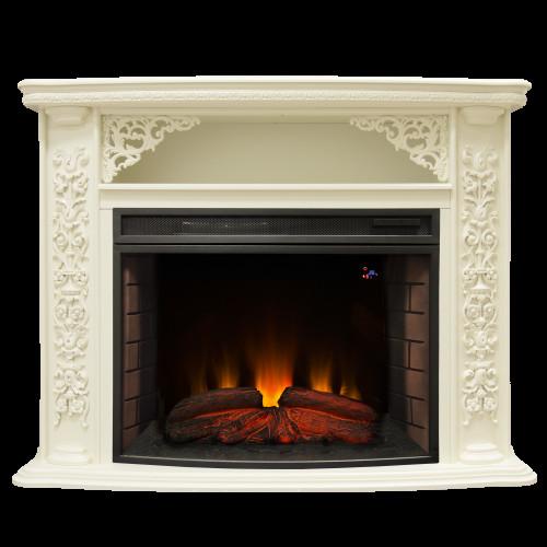 Камин RealFlame Izabella 33 WT с FireSpace 33 S IR