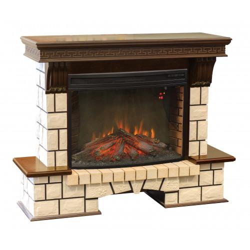 Камин RealFlame Stone New 33 AO с FireSpace 33 S IR