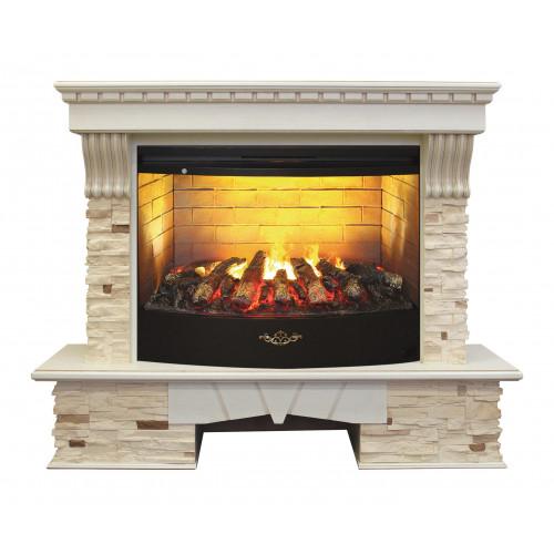 Камин RealFlame Sorento 33 WT c FireStar 33 3D