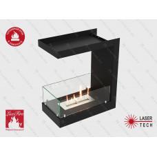 Встроенный биокамин Lux Fire Торцевой 555 М