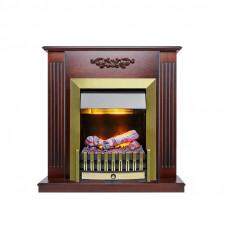 Каминокомплект Lumsden - Махагон коричневый антик с очагом Danville Antique Brass FB2