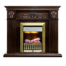 Каминокомплект Provence - Коньяк с очагом Danville Antique Brass FB2 снят с пр-ва