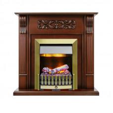 Каминокомплект Venice - Махагон коричневый антик с очагом Danville Antique Brass FB2