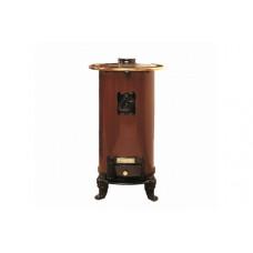 Дровяная печь Hergom Lebena коричневая