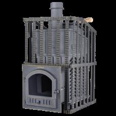 Печь банная Гефест ЗК Ураган 18 (П) теплообменник