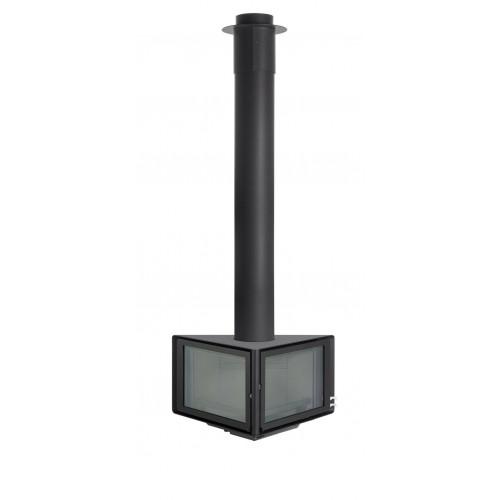 Стальной камин ROCAL Vertex