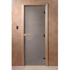 Дверь для сауны DoorWood (ДорВуд) Сатин 2000х700 коробка -ольха/береза