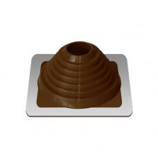 Уплотнитель кровельный №4 силикон 76-152 mm коричневый
