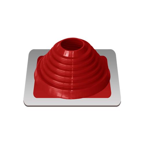 Уплотнитель кровельный №4 силикон 76-152 mm красный