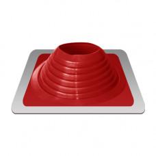 Уплотнитель кровельный №8 силикон 178-330 mm красный