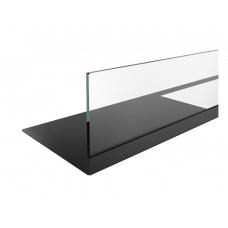 Стекло декоративное с рамкой для биокаминов SteelHeat 700-900