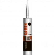 Герметик жаростойкий черный, 1500C, Kamin Fome Flex, 300 мл