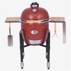 Керамический гриль Monolith Le Chef PRO-Serie 1.0, красный