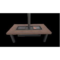 Гриль-стол «Джентльмены» лиственница