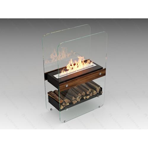Биокамин напольный Lux Fire