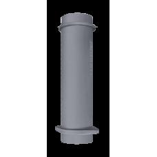 Чугунная ВЕРХНЯЯ труба для шибера 115/500мм