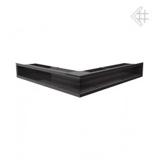 Люфт угловая стандарт черная 90