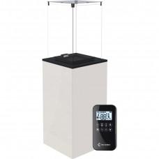 Газовый нагреватель PATIO MINI/G31/37MBAR/B - белое стекло, с пультом ДУ