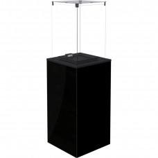 Газовый нагреватель PATIO MINI/M/G31/37MBAR/CZ - черное стекло, с ручным управлением