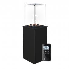 Газовый нагреватель PATIO/G31/37MBAR/S - сталь, с пультом ДУ