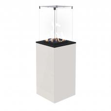 Газовый нагреватель PATIO/M/G31/37MBAR/B - белое стекло, с ручным управлением