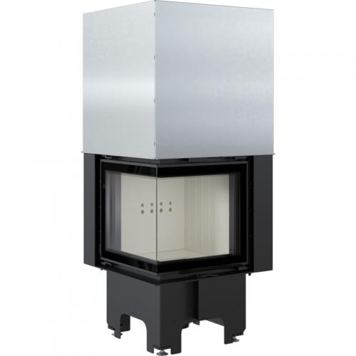 Топка VNL/480/480, Г-образное стекло слева, гильотина